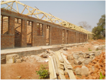 Ibambo clinic under construction