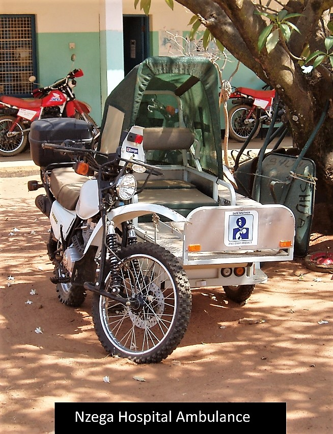 Nzega hospital ambulance