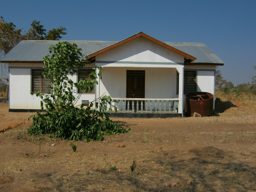 Refurbished Women's League building in Mwanhala