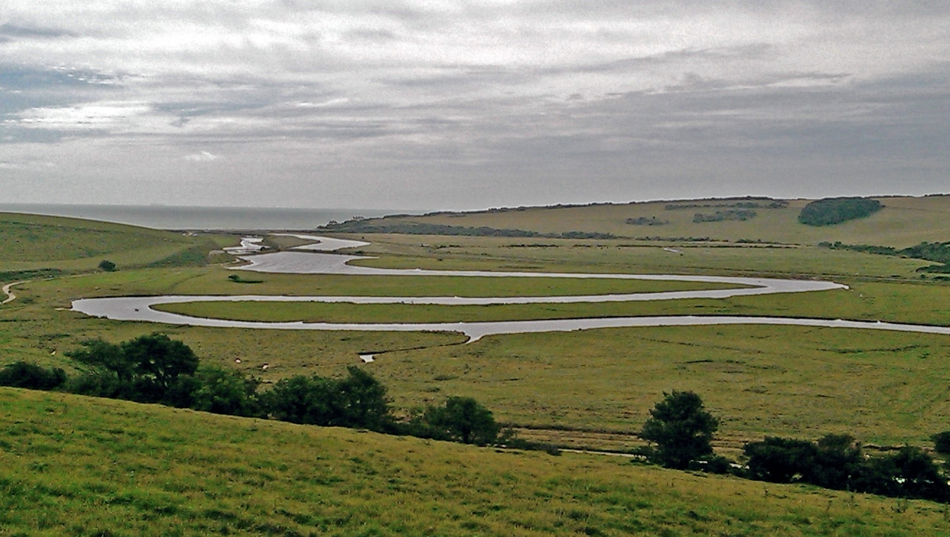 Meandering River Cuckmere