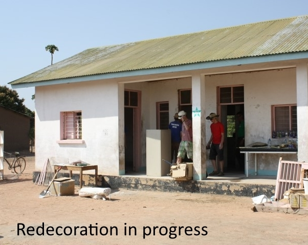 Isegenhe clinic being redecorated