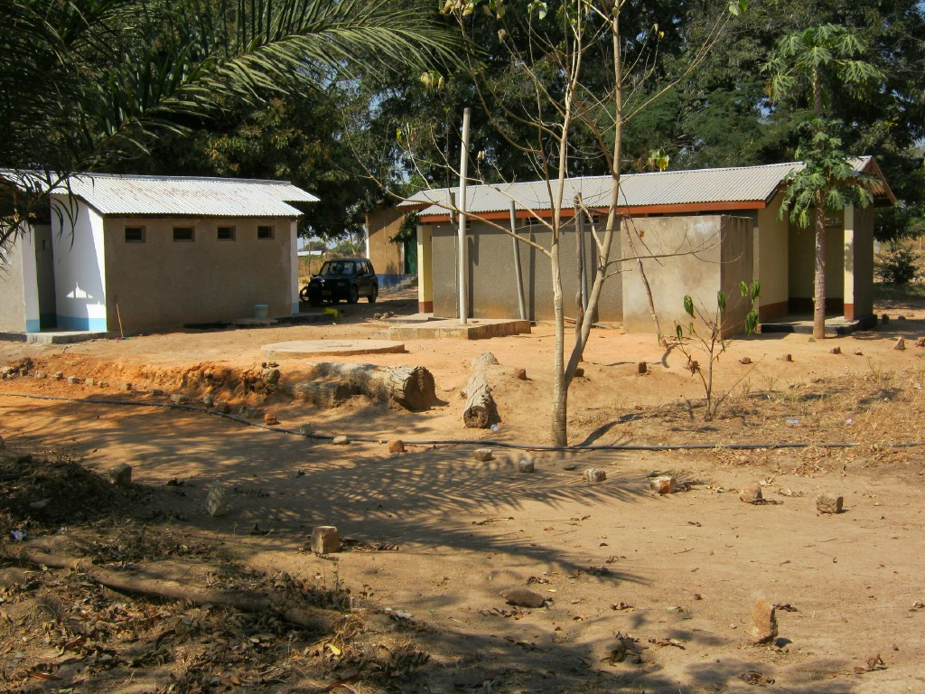 New latrines at Sikonge FDC