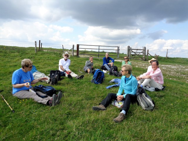 Lunch on Windover Hill