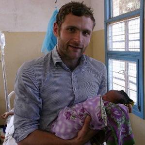 Dr Nick Tilbury+baby