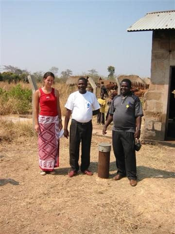 Urambo borehole awaiting completion