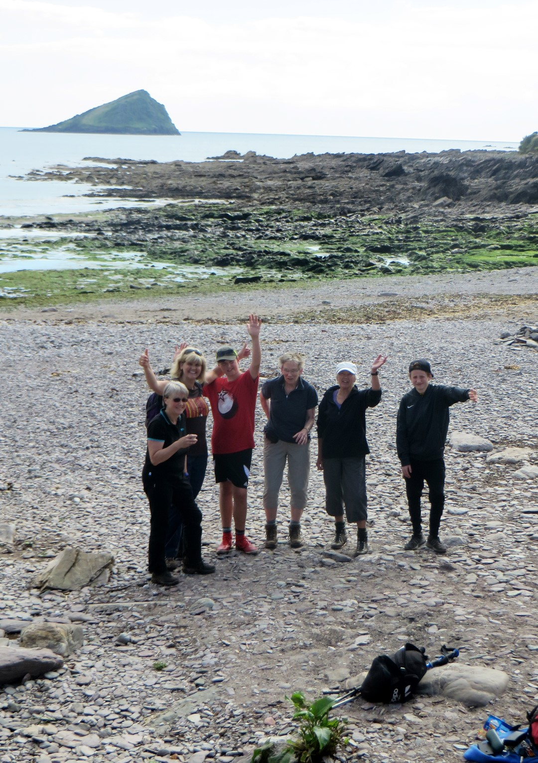 We finally made it to the sea at Wembury
