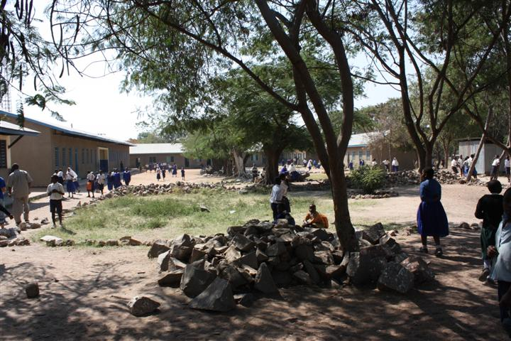 Imeli School grounds