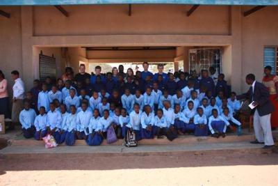 Mwanhala pupils in new uniform
