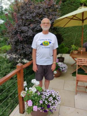 Chairman Richard in his FUM T-shirt