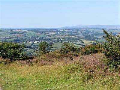 View towards Dartmoor