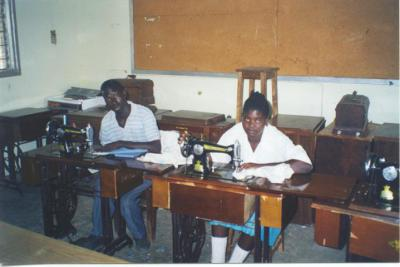 Urambo FDC tailoring students