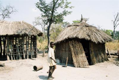 Mwanhala huts