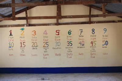 Utimule classroom mural
