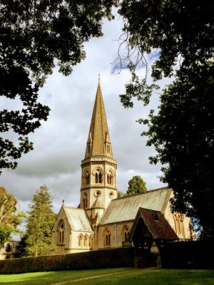 St Barnabas church, Ranmore Common