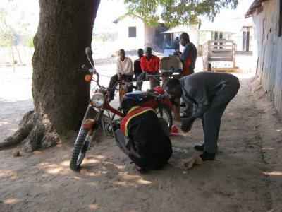 Sikonge FDC motorbike repair class