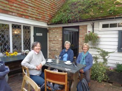A welcome break after negotiating the Seven Sisters
