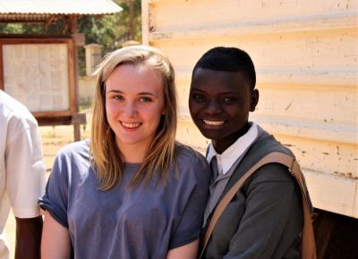 2013 Ginny & Nzega friend