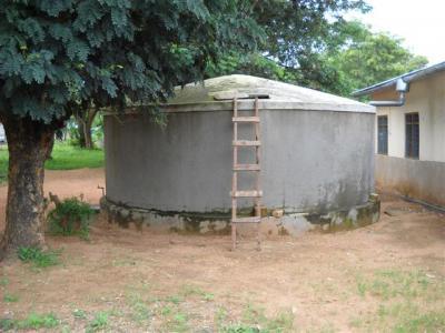 Urambo FDC water tank
