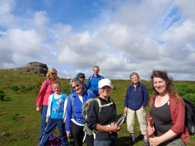 Devon - start at Haytor rocks on Dartmoor