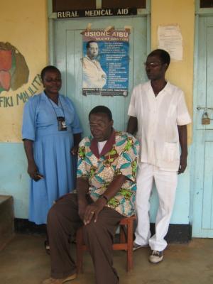 Malilita medical staff