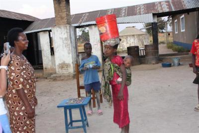 Mama Kanoni at Sikonge FDC