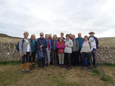 Setting off from Birling Gap