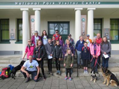 Start in Princetown, Dartmoor